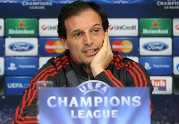 Allegri: Milan must be courageous to beat Barcelona