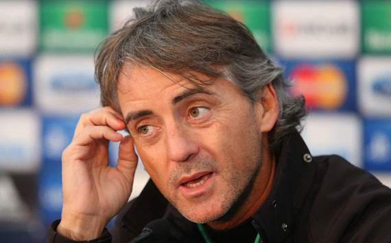 Mancini: Manchester United are favourites for the title