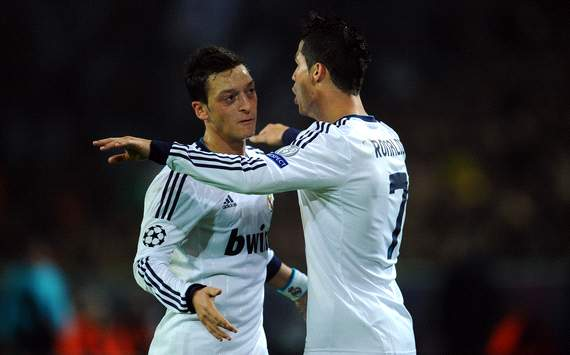 Real Madrid are not a one-man team, says Ozil