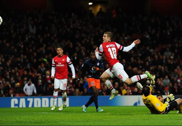 Wilshere: Arsenal weren't good enough against Montpellier