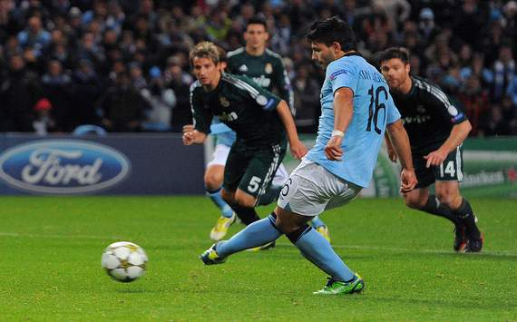 Sergio Aguero penalty Manchester City