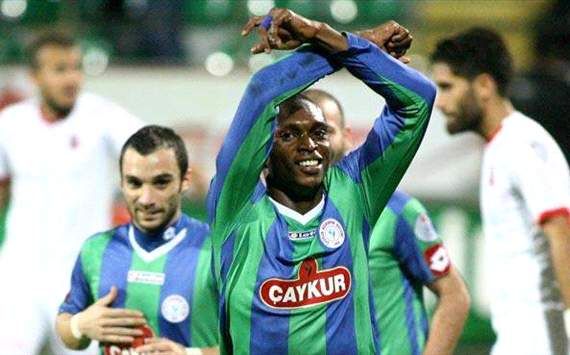 Rizespor striker Uche Kalu says he will miss his father who was buried on Saturday