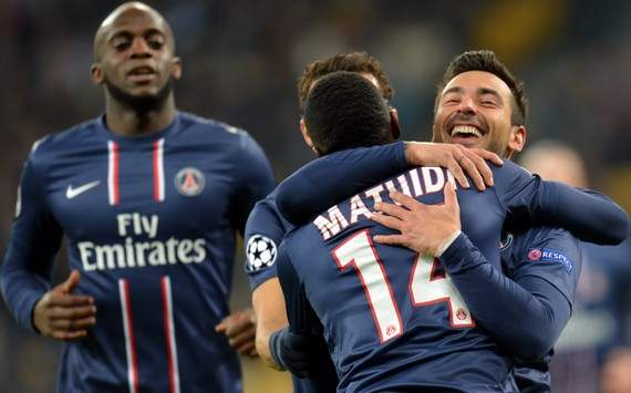 Champions League : Ezequiel Lavezzi (Paris SG)