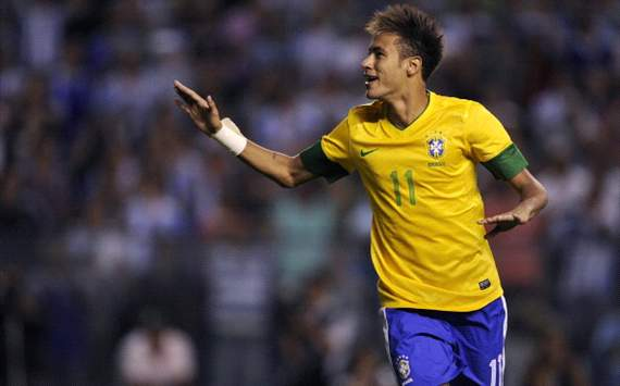 Neymar not too young to be Brazil's star player, insists Scolari