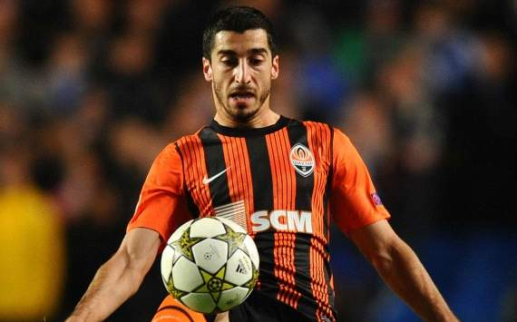 Fiorentina set sights on Mkhitaryan