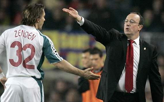 Zenden 'proud' of Benitez's assistant manager offer at Chelsea