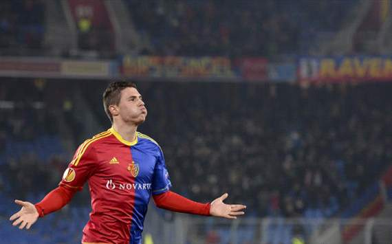 FC Basel - Sporting Lissabon, Fabian Schr