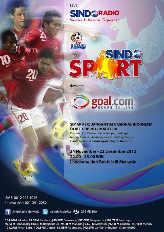 Sindo Radio 104.6 FM Jakarta GOAL.com Indonesia
