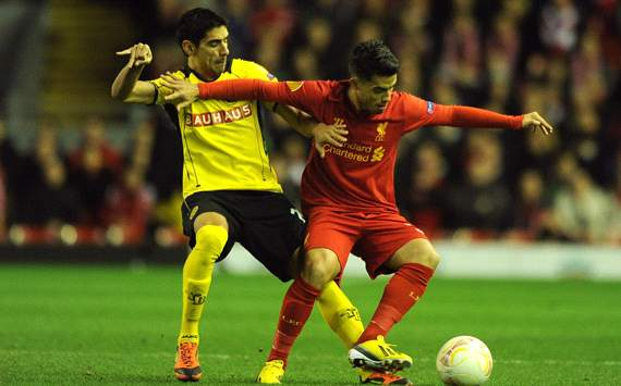 UEFA Europa League, Liverpool FC v BSC Young Boys, Gonzalo Zarate, Suso