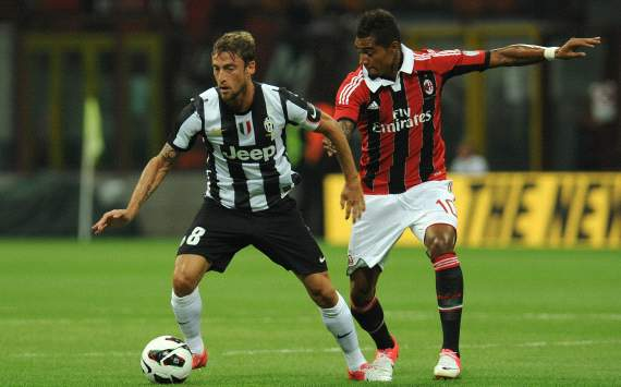 Claudio Marchisio, Kevin Prince Boateng - Milan-Juventus