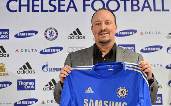benitez with chelsea