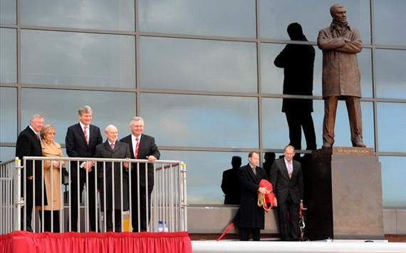 Sir Alex Ferguson ya tiene su propia estatua en Old Trafford