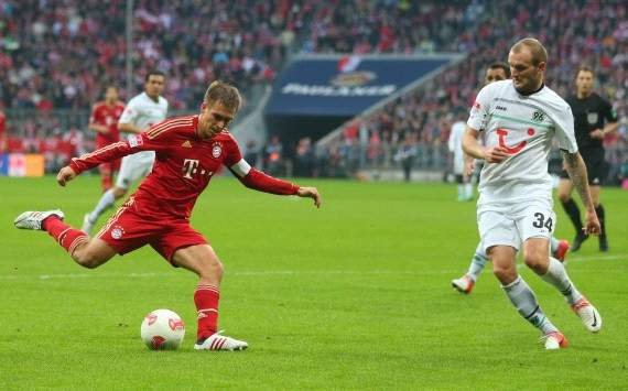Lahm wants Bayern-Dortmund Champions League final
