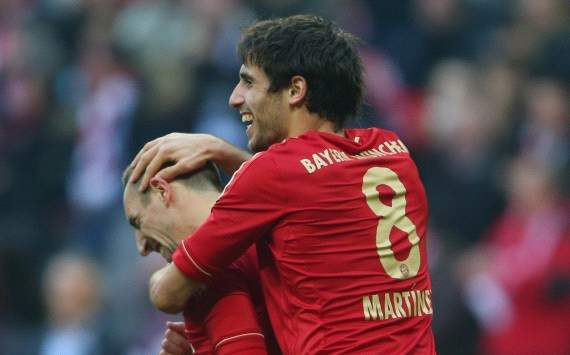 Germany: Bayern Munich - Hannover 96, Franck Ribery, Javi Martinez