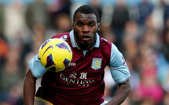 Christian Benteke of Aston Villa profile pic