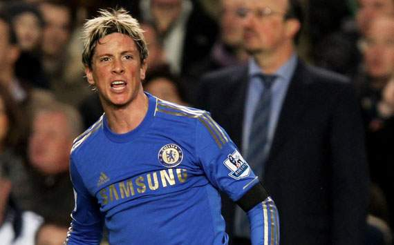 Torres peaked at Liverpool, says Chelsea interim boss Benitez