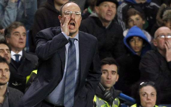 New Chelsea boss Benitez shrugs off Blues boos