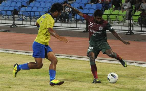 James Singh, Snehasish Chakrabarty, Mumbai FC vs Mohun Bagan, I-League