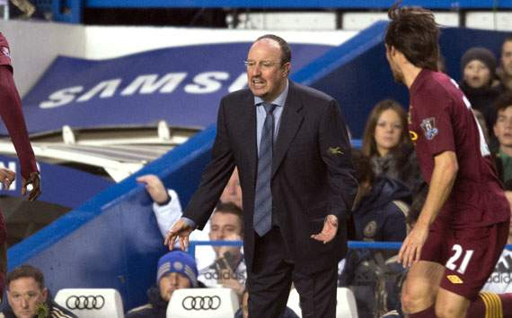 Benitez refuses to issue apology to Chelsea fans