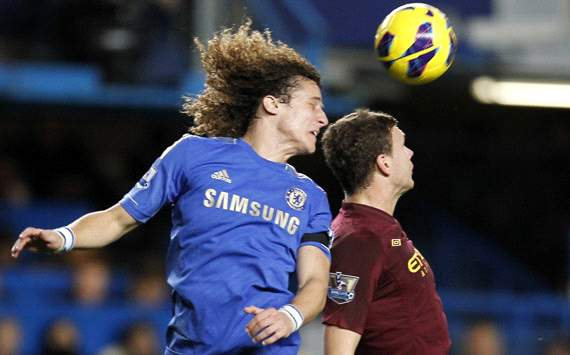 EPL; David Luiz; Edin Dzeko; Chelsea Vs Manchester City