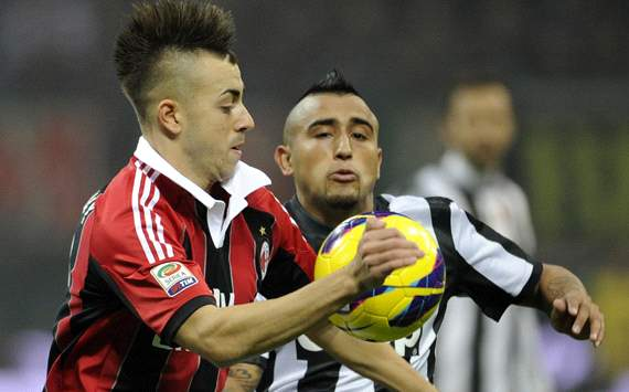 El Shaarawy &amp; Vidal - Milan-Juventus - Serie A