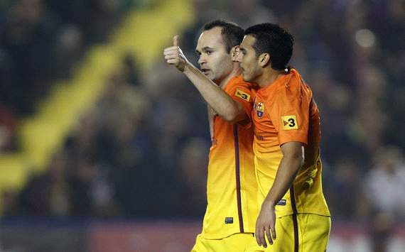 Goal.com readers vote for Andres Iniesta as World Player of the Week