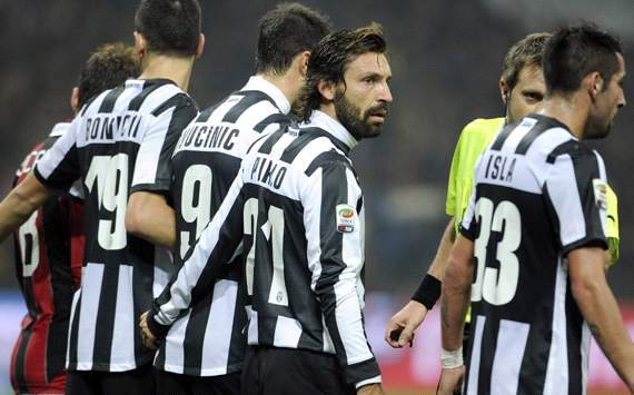 Pirlo: Juventus have missed Conte