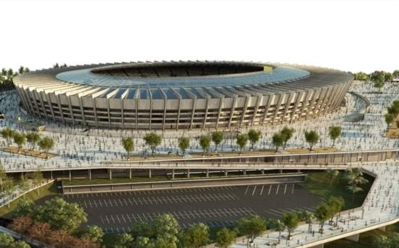 WM-Stadion in Belo Horizonte feierlich erffnet