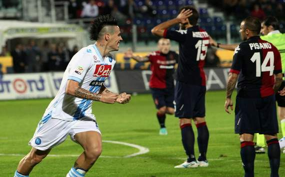 Marek Hamsik (N) - Cagliari-Napoli - Serie A