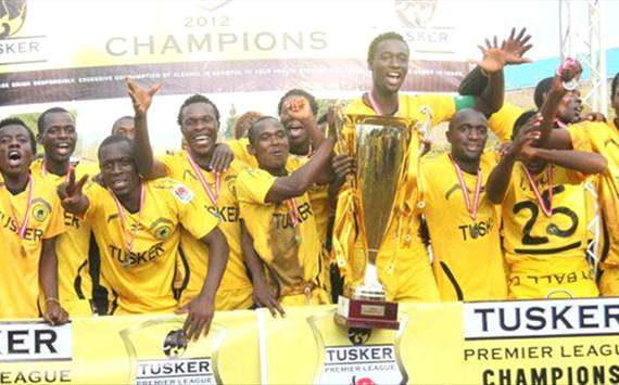Kenya champions Tusker to start 2013 campaign with a home tie against Stima