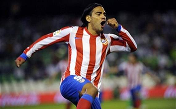 Falcao flying the flag for Colombian football, says Valderrama