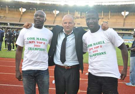 Logarusic takes Gor Mahia officials to task