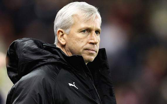 Stoke City v Newcastle United, Alan Pardew