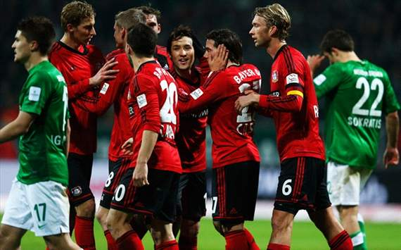 Leverkusen vs Bremen, Germany