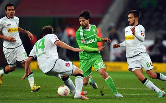Gladbach vs Wolfsburg, Germany