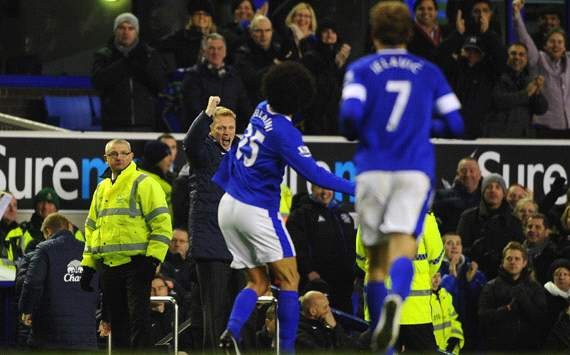 Everton v Arsenal, David Moyes, Marouane Fellaini