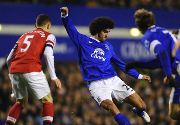 Everton boss Moyes urges Fellaini to emulate Messi attitude