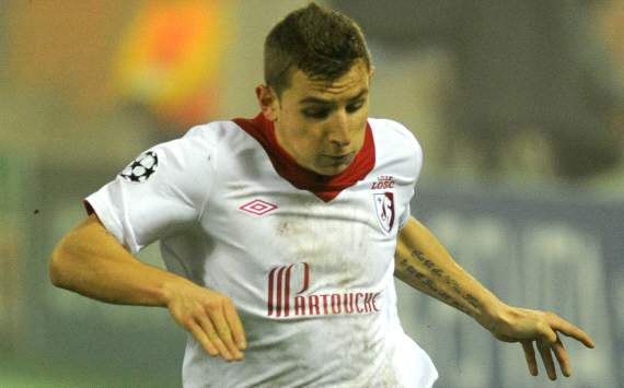 Lucas Digne aware of Manchester United link but happy to stay at Lille