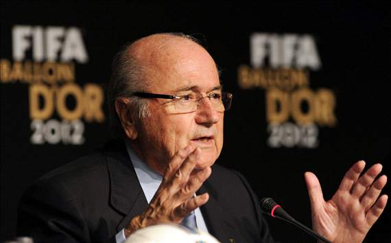Blatter: Players walking off is not the solution