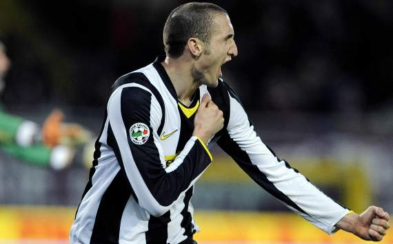 Chiellini hoping to score again in Turin derby