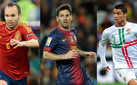 POLL: Who should win 2012 Ballon D'Or?