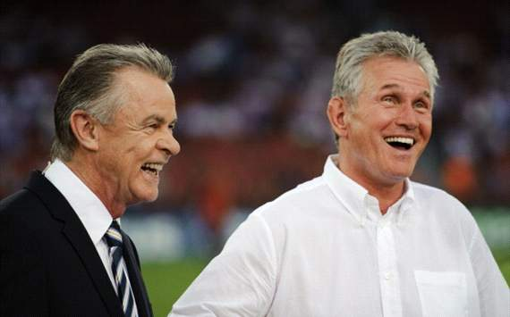 Bayern still hurting from Dortmund losses, says Hitzfeld