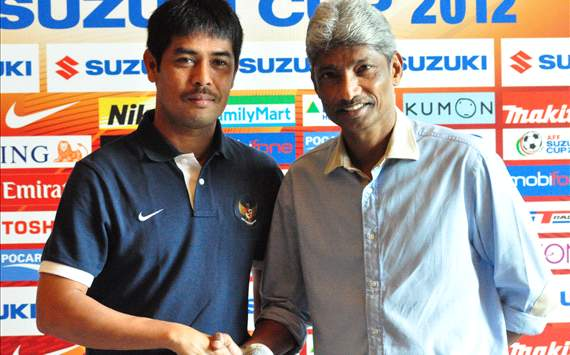 Nil Maizar, Coach, Indonesia & Datuk K.Rajagopal, Coach, Malaysia