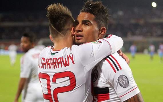 El Shaarawy & Boateng - Milan