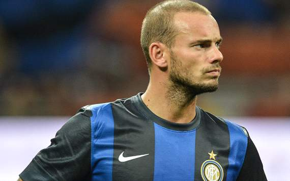 Sneijder preparing for Inter exit, says wife