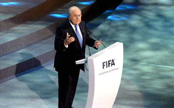 'Fifa is behind you' - Blatter backs Brazil