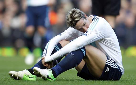 Torres decline hits lowest ebb yet as Chelsea's title bubble bursts