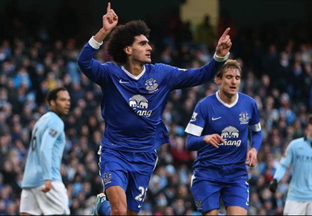 Fellaini targeting Champions League football with Everton