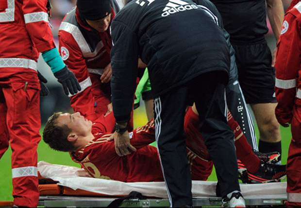 Bayern Munich confirms Holger Badstuber will undergo surgery on Monday