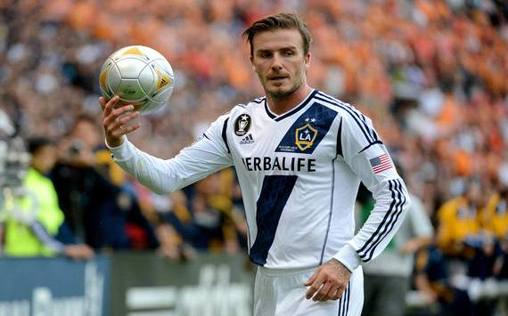 Beckham backs Manchester United to win Premier League